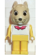 Minifig No: fab3d  Name: Fabuland Figure Bunny 4 - Collar Pattern