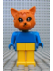 Minifig No: fab3i  Name: Fabuland Figure Cat 5