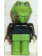 Minifig No: fab4b  Name: Fabuland Figure Crocodile 1