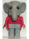 Minifig No: fab5b  Name: Fabuland Figure Elephant 2