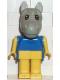 Minifig No: fab6b  Name: Fabuland Figure Horse 2