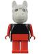 Minifig No: fab6d  Name: Fabuland Figure Horse 4