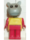 Minifig No: fab6e  Name: Fabuland Figure Hippo 1