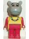 Minifig No: fab6f  Name: Fabuland Figure Hippo 2 - Necklace Pattern
