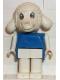 Minifig No: fab7a  Name: Fabuland Figure Lamb 1