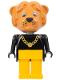 Minifig No: fab7f  Name: Fabuland Figure Lion 2