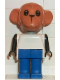 Minifig No: fab8f  Name: Fabuland Figure Monkey 2