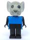 Minifig No: fab9c  Name: Fabuland Figure Mouse 4