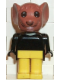 Minifig No: fab9d  Name: Fabuland Figure Mouse 3