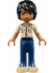 Minifig No: frnd081  Name: Friends Matthew, Dark Blue Trousers, Khaki Shirt