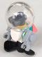 Minifig No: frnd311  Name: Friends Zobo the Robot, Diving Helmet, Propeller