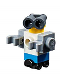 Minifig No: frnd325  Name: Friends Zobo the Robot, Roller Skate