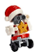 Minifig No: frnd340  Name: Friends Zobo the Robot, Santa