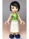 Minifig No: frnd356  Name: Friends David, Lime Shirt, White Apron with Lime Apple, Dark Blue Shoes
