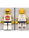 Minifig No: fst001  Name: FIRST LEGO League (FLL) 1999 pattern