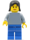 Minifig No: fst005  Name: FIRST LEGO League (FLL) Climate Connections Scientist 3
