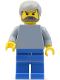 Minifig No: fst006  Name: FIRST LEGO League (FLL) Climate Connections Scientist 4
