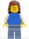 Minifig No: fst010  Name: FIRST LEGO League (FLL) Climate Connections Girl