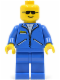 Minifig No: game004  Name: Jacket Blue - Blue Legs, No Headgear (Blue Cruiser)