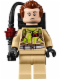 Minifig No: gb005  Name: Dr. Peter Venkman, Printed Arms, Slimed - with Proton Pack