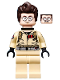 Minifig No: gb012a  Name: Dr. Egon Spengler, Printed Arms