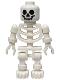 Minifig No: gen001  Name: Skeleton with Standard Skull