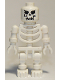 Minifig No: gen004  Name: Skeleton with Evil Skull