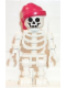 Minifig No: gen010  Name: Skeleton with Standard Skull, Red Bandana