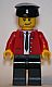 Minifig No: gen058  Name: Legoland Train Operator