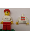 Minifig No: gen102  Name: LEGO Idea House Minifigure - LEGO Logo with LEGO History Website Address on Back