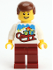 Minifig No: gen111  Name: Lego Kladno PF 2018 Holiday Minifigure Man