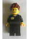 Minifig No: gen132  Name: Store Employee (100 LEGO Stores - North America Back Printing)