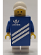 Minifig No: gen156s  Name: Adidas Shoebox Costume with Sticker