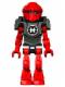 Minifig No: hf021  Name: Hero Factory Mini - Furno - Blue Head