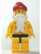 Minifig No: hol010  Name: Santa, Yellow Legs with Black Hips, Yellow Torso