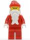 Minifig No: hol013  Name: Santa, Red Legs, White Bushy Eyebrows