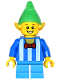 Minifig No: hol046  Name: Elf - White Stripes