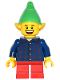 Minifig No: hol047  Name: Elf - Plaid Button Shirt