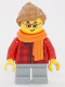 Minifig No: hol117  Name: Girl with Scarf