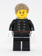 Minifig No: hol123  Name: Fire - Jacket with 8 Buttons, Dark Tan Smooth Hair