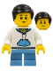 Minifig No: hol146  Name: Dragon Boat Race Child Spectator