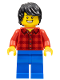 Minifig No: hol158  Name: Dragon Boat Race Adult Male Spectator