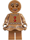 Minifig No: hol168  Name: Gingerbread Woman