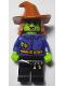 Minifig No: hol173  Name: Wacky Witch - Dark Orange Floppy Hat