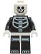 Minifig No: hol237  Name: Skeleton Guy - White Head
