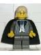 Minifig No: hp018  Name: Lucius Malfoy, Dark Gray Suit Torso, Dark Gray Legs