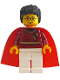 Minifig No: hp019  Name: Harry Potter, Dark Red Quidditch Uniform