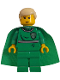 Minifig No: hp020  Name: Draco Malfoy, Green Quidditch Uniform