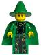 Minifig No: hp022  Name: Professor Minerva McGonagall, Green Robe and Cape