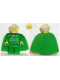 Minifig No: hp028  Name: Professor Gilderoy Lockhart, Green Torso and Legs
